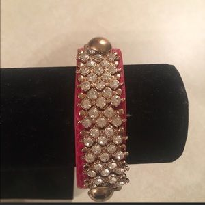 Jewelry - Red cuff bracelet